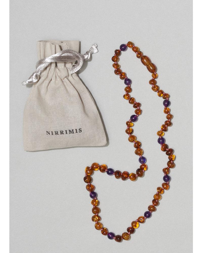 NIRRIMIS necklace amethyst