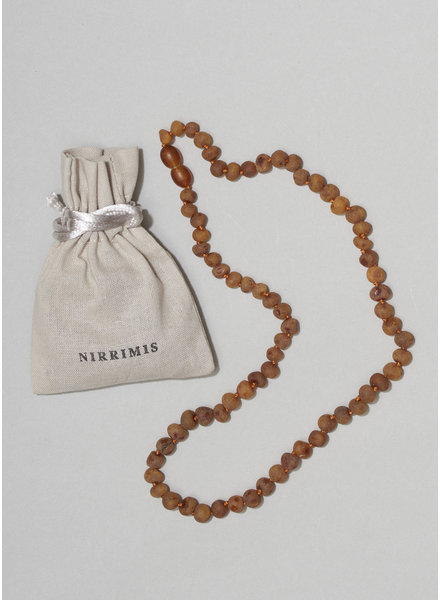 NIRRIMIS necklace raw caramel