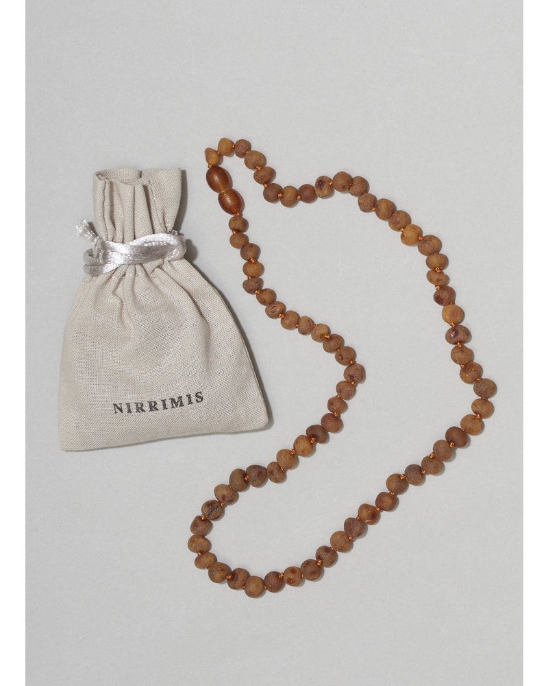 NIRRIMIS necklace raw caramel