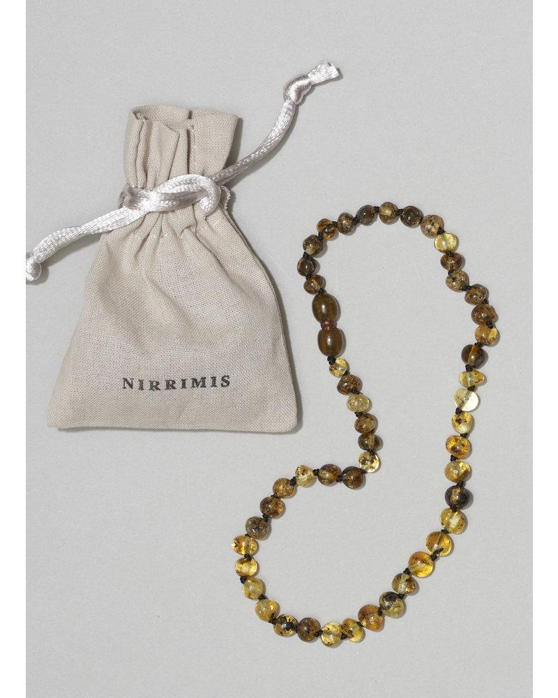 NIRRIMIS necklace polisched green