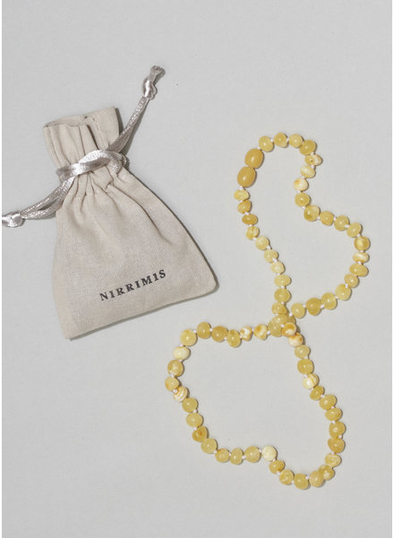 NIRRIMIS necklace milky