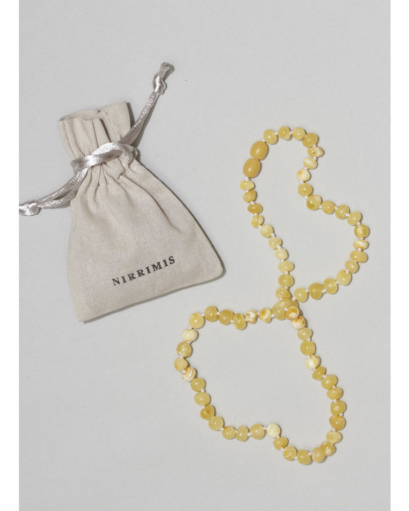 NIRRIMIS necklace milky