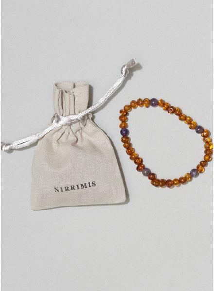 NIRRIMIS bracelet  amethyst
