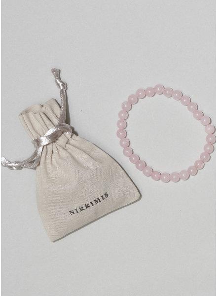 NIRRIMIS bracelet rose quatz