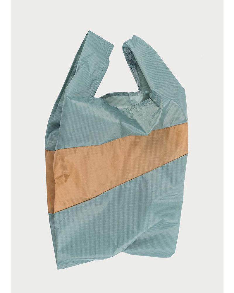 Susan Bijl shopping bag grey & camel