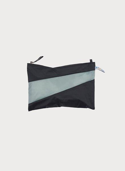 Susan Bijl pouch black & grey