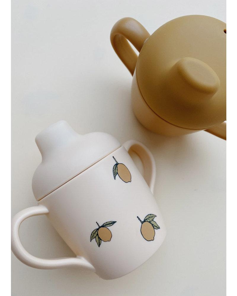 Konges Slojd sippy cup 2 pack lemon