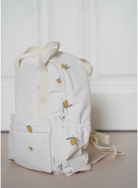 Konges Slojd loma backpack lemon