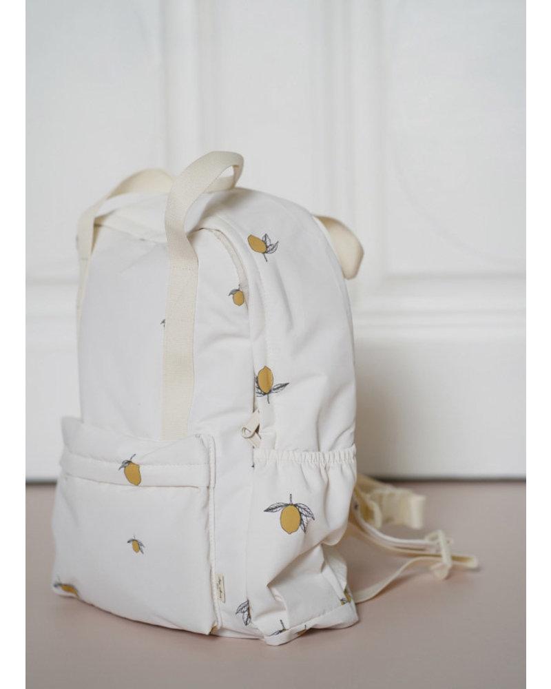 Konges Slojd loma backpack lemon