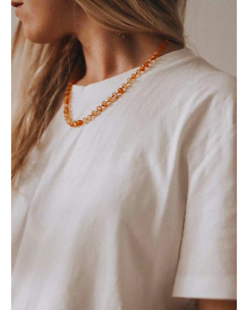 NIRRIMIS necklace raw honey