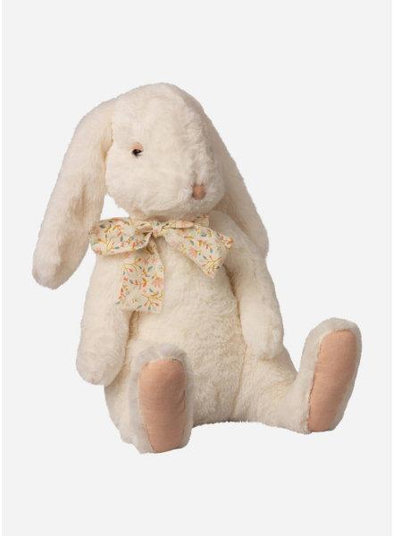 Maileg fluffy bunny x-large white