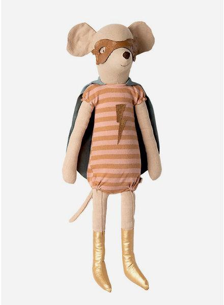 Maileg super hero mouse - maxi girl