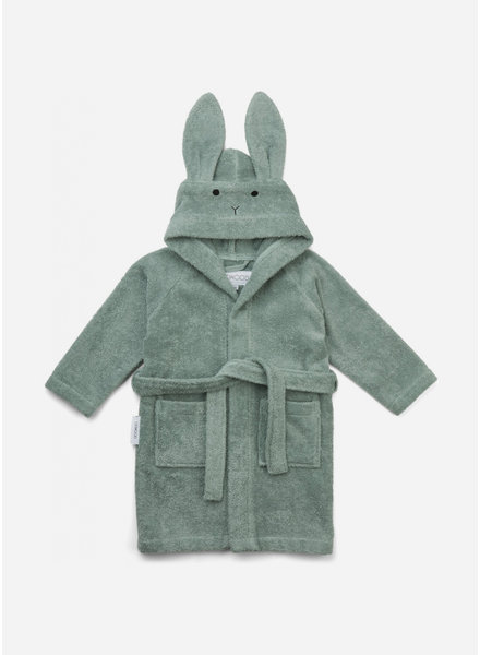 Liewood lily bathrobe rabbit peppermint