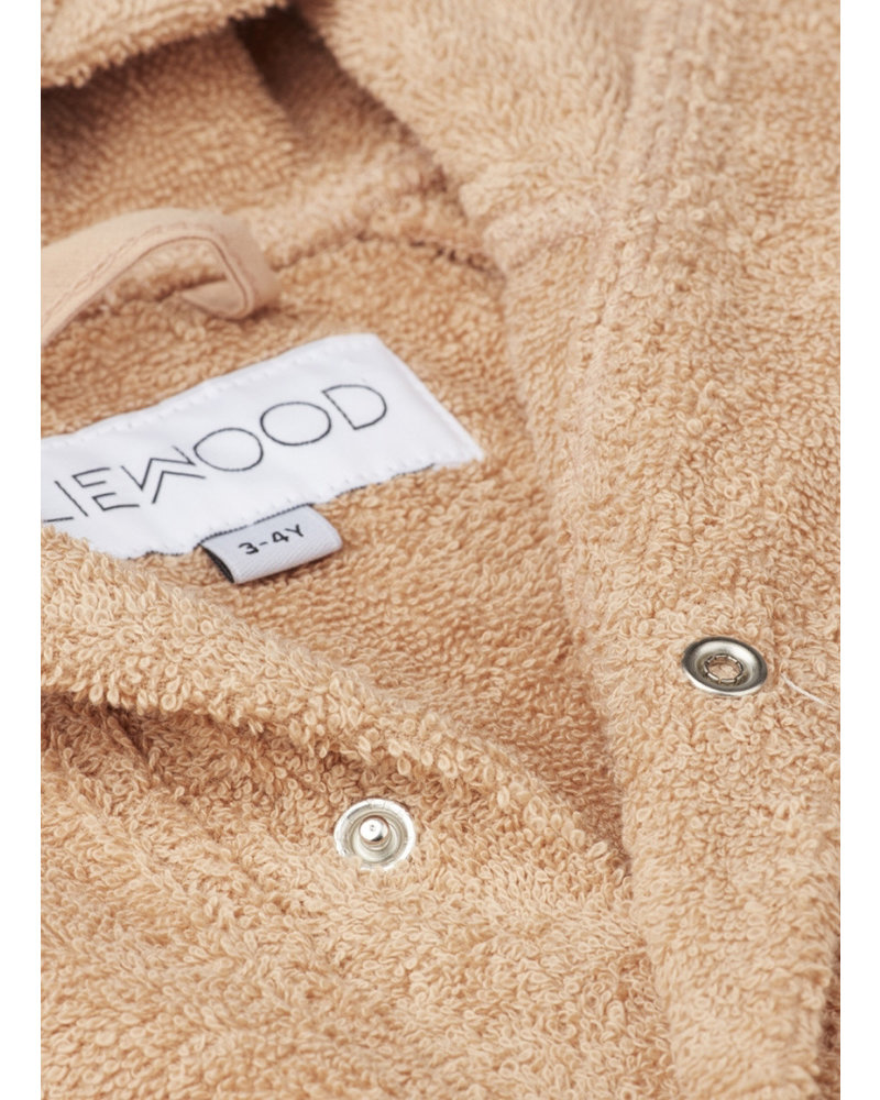 Liewood lily bathrobe leopard apricot