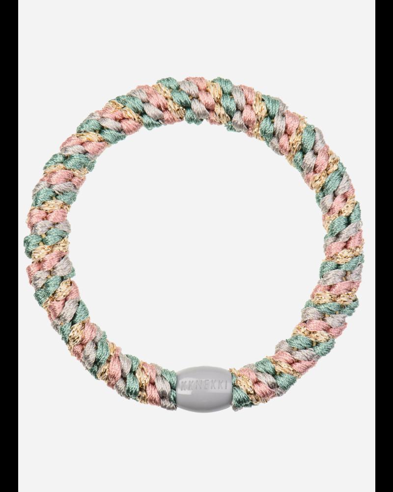 Kknekki by Bon Dep mix faded green pink glitter