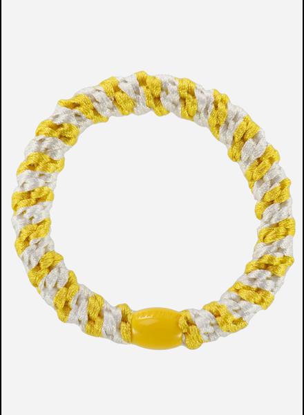 Kknekki by Bon Dep kknekki white yellow stripe