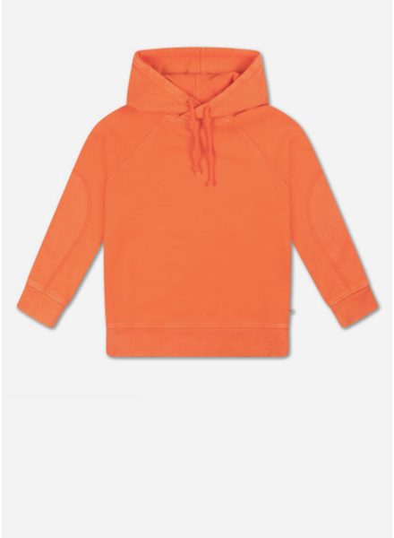 Repose hoodie - washed firy red