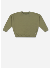 Repose boxy sweater - loden green