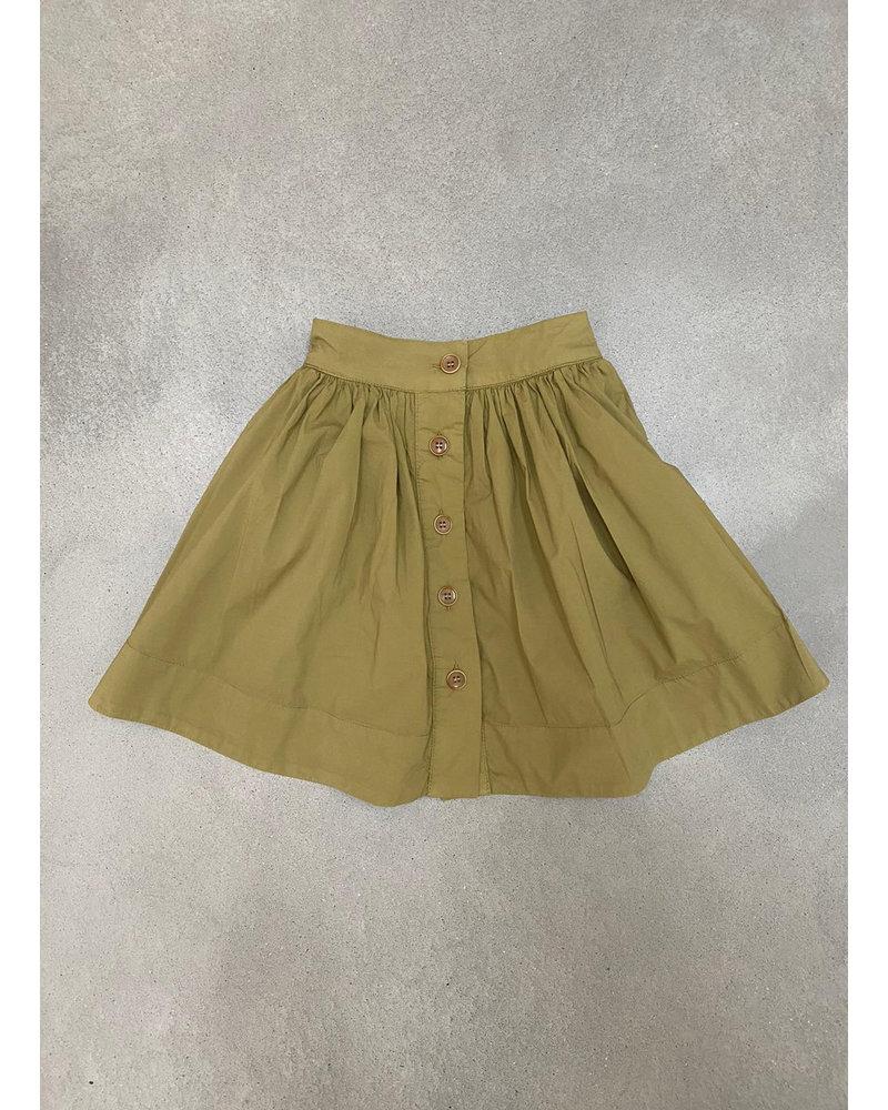 Morley mistral pisang khaki skirt