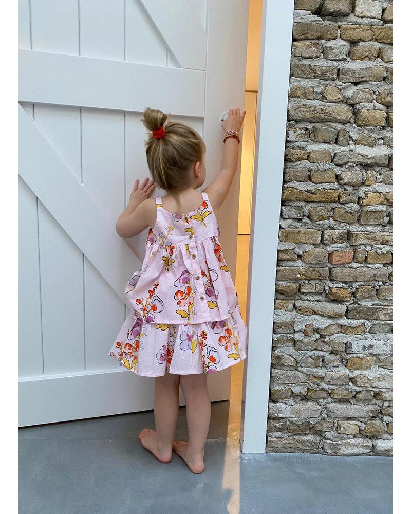 Morley ferrari appleblossom rosewater skirt