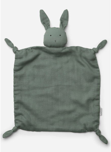 Liewood agnete cuddle cloth - rabbit peppermint