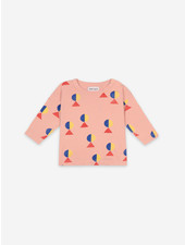Bobo Choses geometric all over long sleeve tshirt