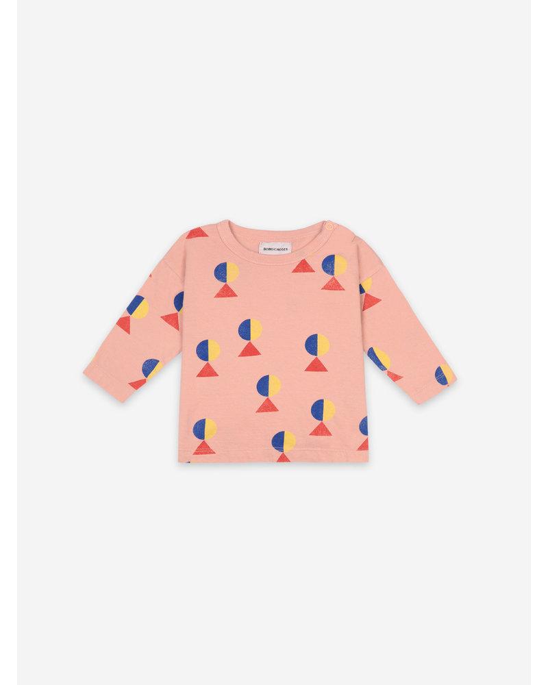 Bobo Choses geometric all over long sleeve tshirt