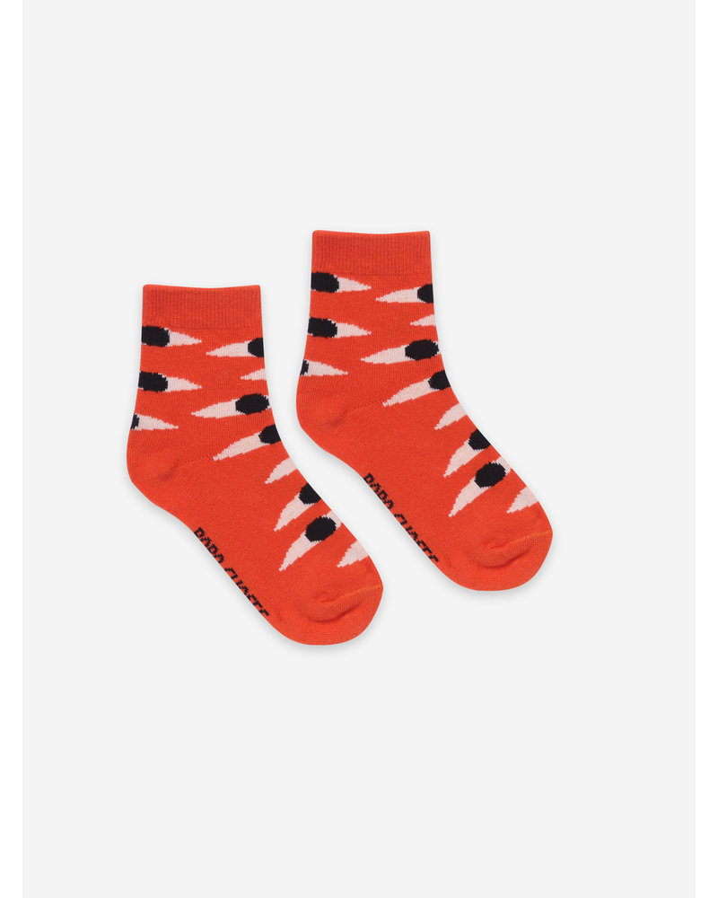 Bobo Choses eyes red short socks