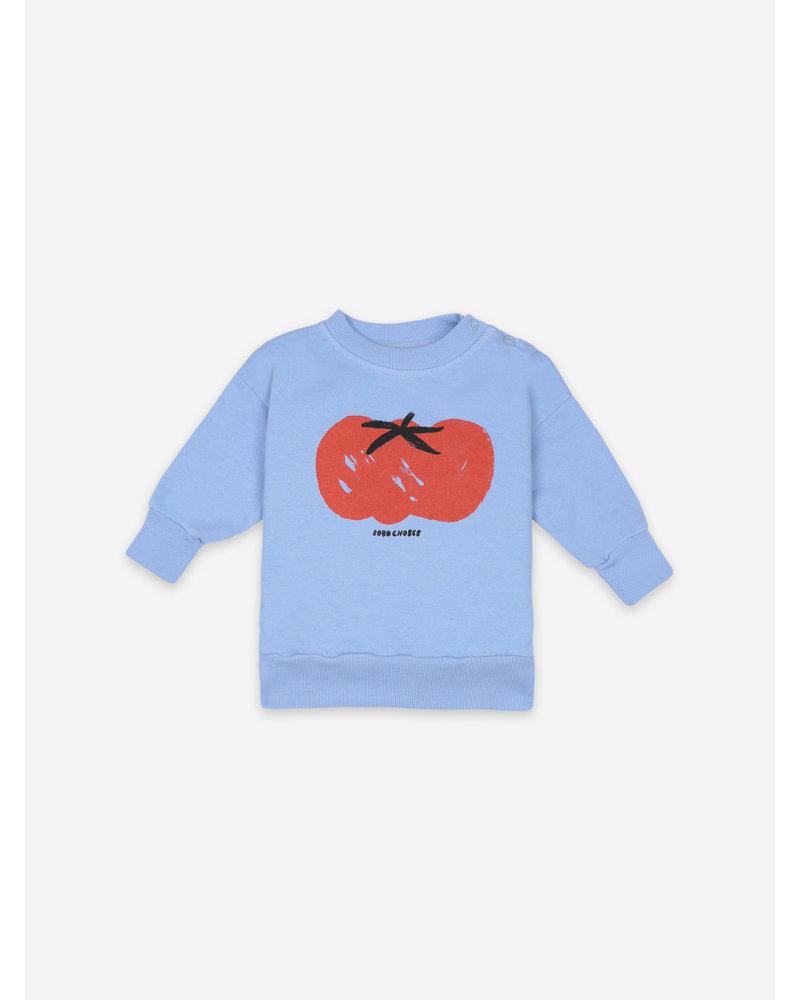 Bobo Choses tomato sweatshirt