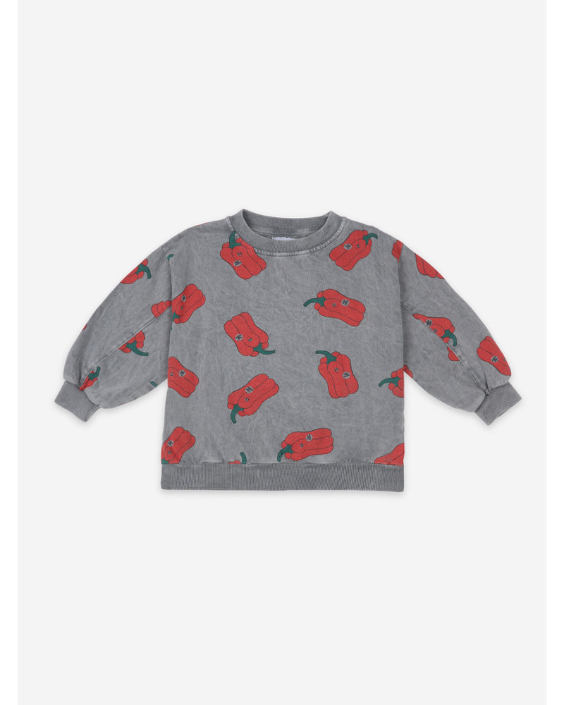 Bobo Choses vote for pepper all over sweatshirt