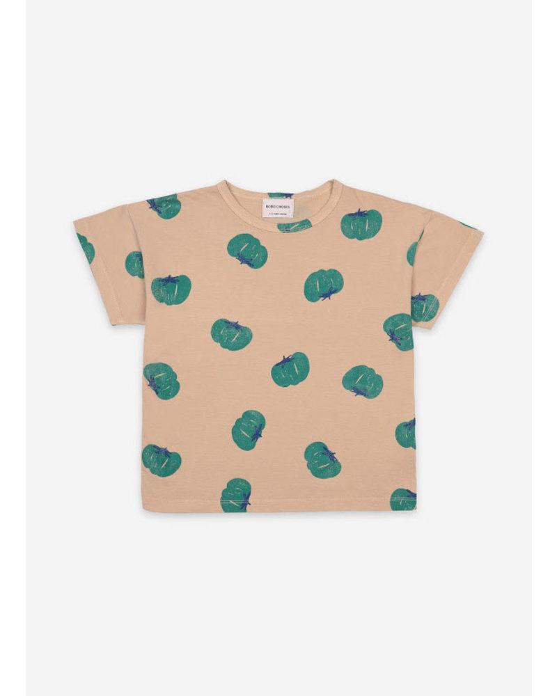 Bobo Choses tomatoes all over short sleeve tshirt