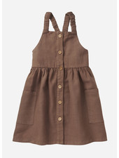 Mingo pinefore dress - warm earth