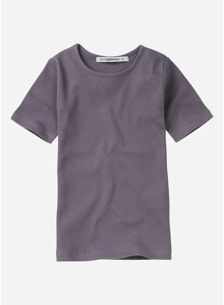 Mingo rib top  - lavender