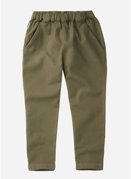 Mingo tapered trousers - sage green