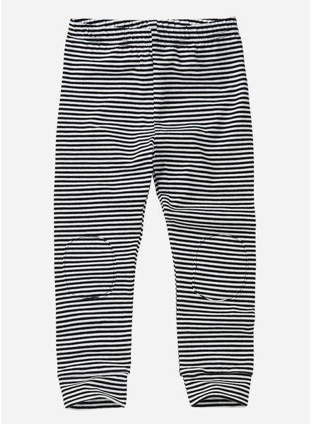 Mingo legging - stripe black white