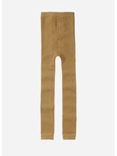 Mingo sockless tights - light ochre