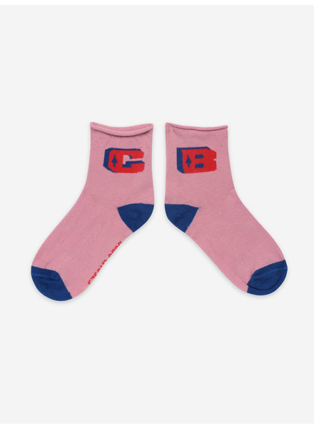 Bobo Choses pink bc short socks