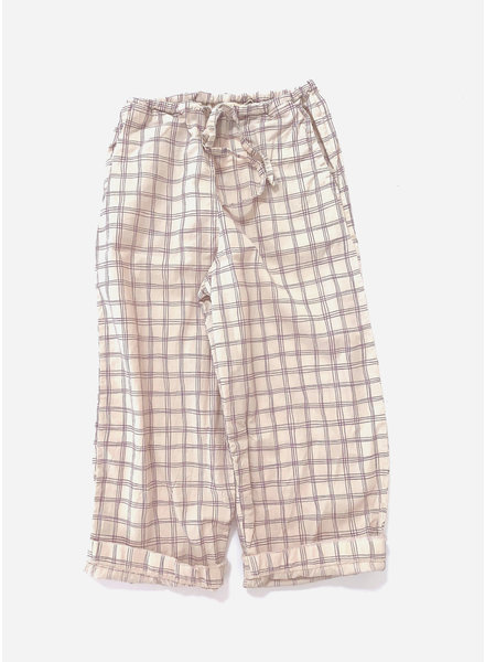 Long Live The Queen baggy pants - purple check