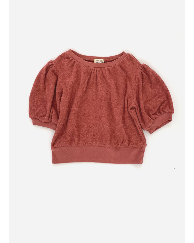 Long Live The Queen short sleeved sweater - canyon