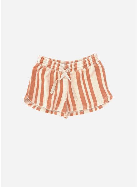 Long Live The Queen shorts - orange stripe