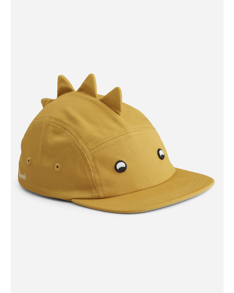 Liewood rory cap - dino yellow mellow
