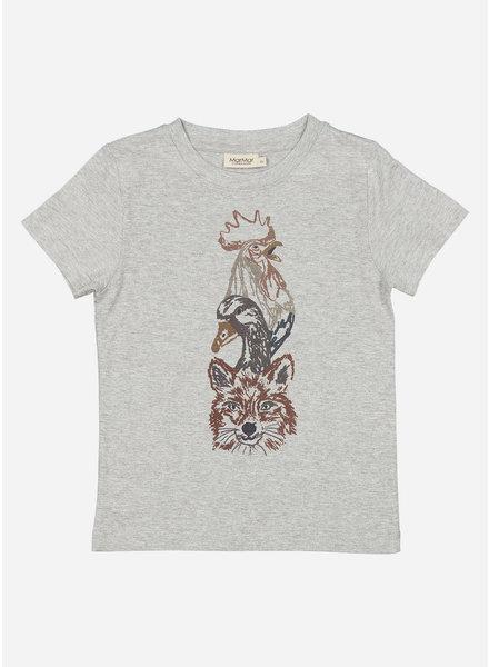 MarMar Copenhagen ted shirt - grey melange