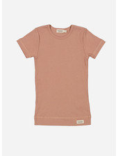 MarMar Copenhagen plain tee ss - rose brown