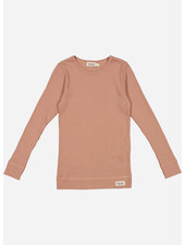 MarMar Copenhagen plain tee ls - rose brown