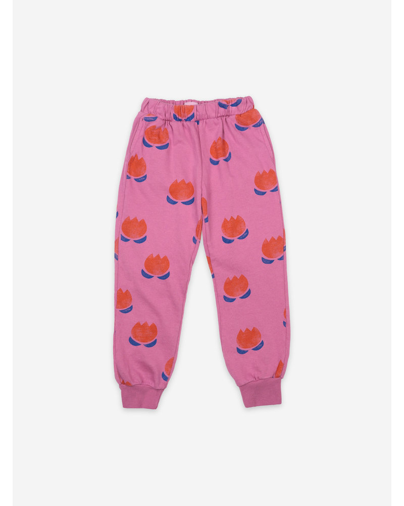 Bobo Choses chocolate flowers all over jogging pants
