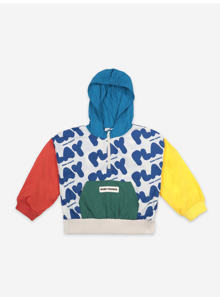 Bobo Choses play all over rain jacket