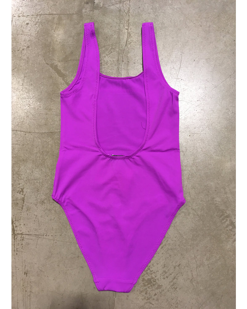Les Coyotes De Paris lilly swimwear - retro purple