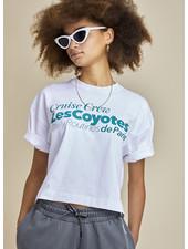 Les Coyotes De Paris evelyn tee - white