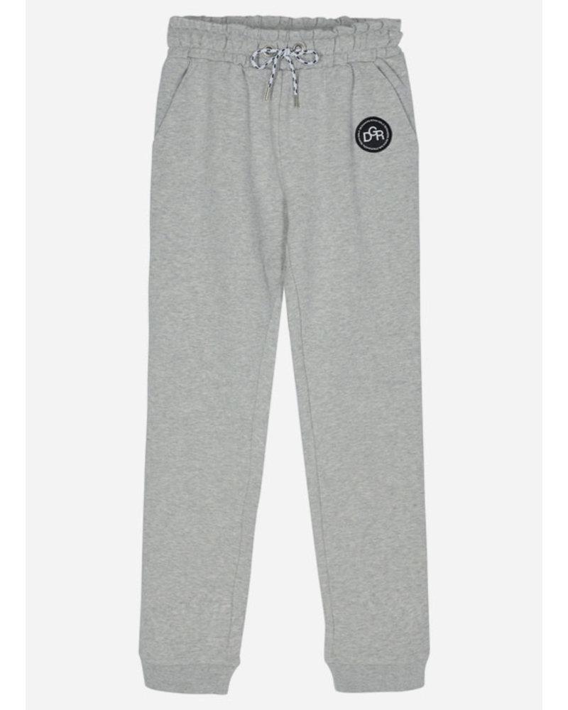 Designer Remix Girls parker pants - grey melange