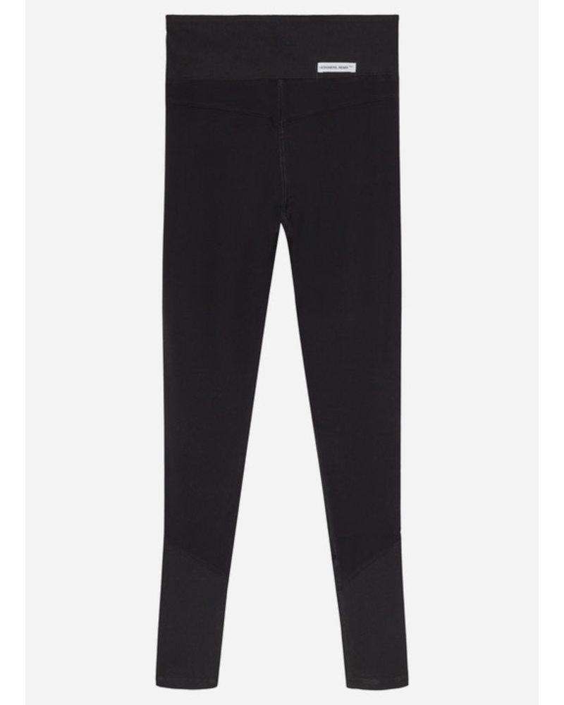 Designer Remix Girls stretch tights - black